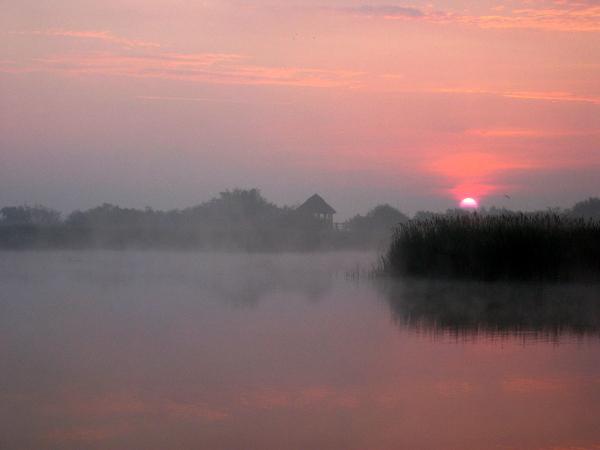 Dawn on Hickling Broad